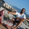 Great White Shark caught in Adriatic Sea