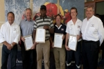 Awards for shark attack heros in South Africa