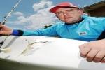 Kayak angler survives shark attack