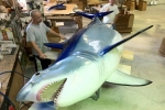 World Record Mako Shark- Reproduced by Taxidermist in Florida