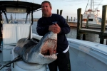 Big Mako Shark caught off Mississippi