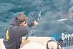 Bowfishing for Mako Sharks in California