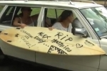 Video: Surfers protest outside the Prefecture in Reunion Island