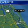 Girl, woman, bitten by sharks in separate Volusia County attacks
