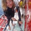 Kylie Maguire bitten by  three-metre bull shark Tonga