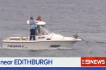 9News: Shark Attack near Edithburgh in SA 08/02/14