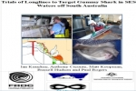 SA Gummy Shark Fishery: Trials of longlines to mitigate captures of Australian sea lion