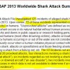 Shark Attack File Clarification