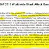 Shark Attack File Clarification