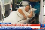 7NEWS: Surfer hospitalised after shark attack at Byron Bay in NSW