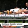 WPTV News:  Man bitten by shark off coast of Jupiter, Florida