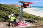 New Shark Warning Tower Installed in Esperance