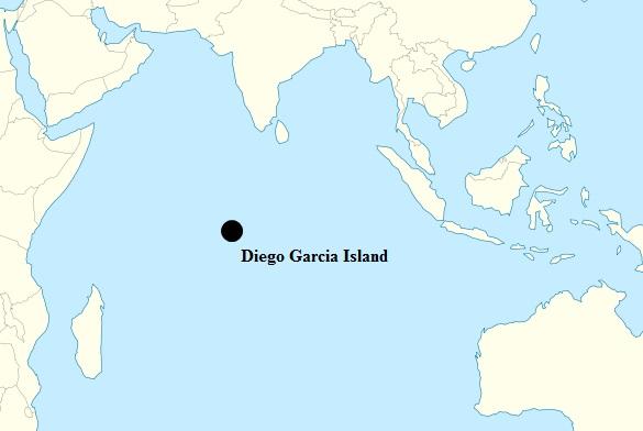 Diego Garcia Map