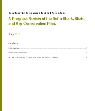pdf_Progress Review of the Defra Shark, Skate, and Ray Conservation Plan