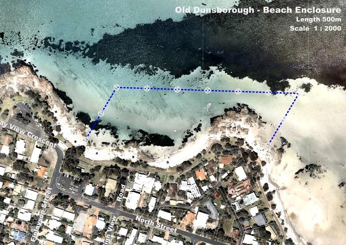 Busselton shark net